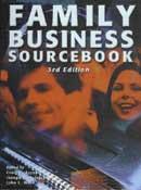 FAMILY BUSINESS SOURCEBOOK. 3ª Edición